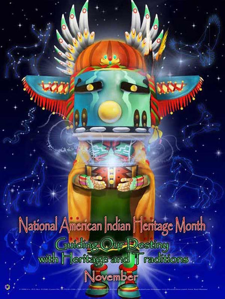 American Indian Heritage Month Poster .. GSA ...