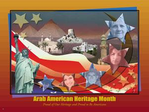 Item# ARK Buttons, Bookmarks & Magnets Arab American Heritage Month -  DiversityStore.Com®