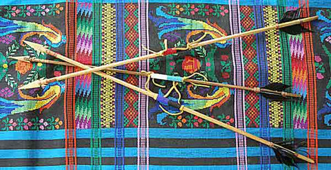 Item# ARR1 Beaded Arrow (Large 29 inch)  .. OM