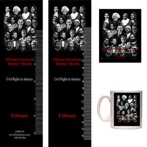 Item# B14AK Bookmarks, Buttons, Magnets, Mugs & Key Chains ..OM -  DiversityStore.Com®