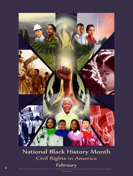 Item# B14 National Black History Month Civil Rights in America (GSA) -  DiversityStore.Com®