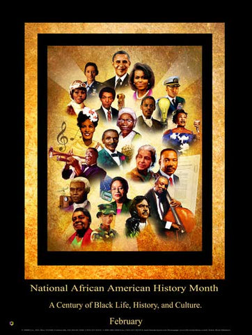 Item# B15A National African American History Month A Century of Black Life, History and Culture (GSA) -  DiversityStore.Com®