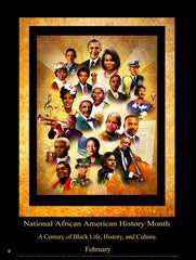 Item# B15A National African American History Month A Century of Black Life, History and Culture (GSA)