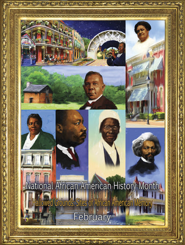 Item # B16A African American History Month - Hallowed Grounds: (GSA) -  DiversityStore.Com®