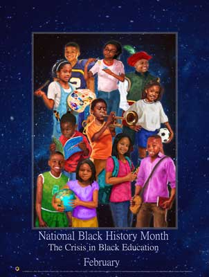 Item# B17 2017 Black Month The Crisis in Black Education.. (GSA) -  DiversityStore.Com®