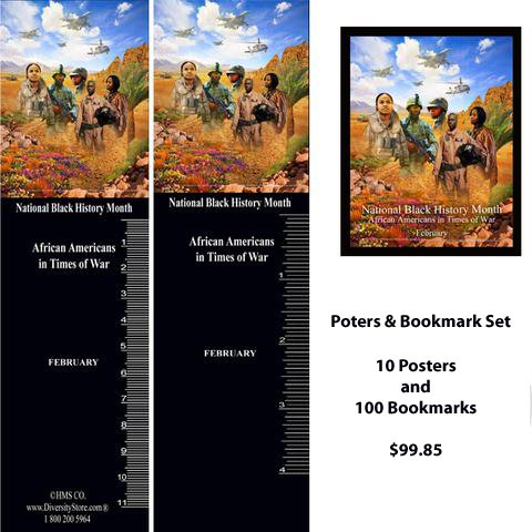 Item# B18PKSET - B18 Posters and Bookmark Set - Includes  Ten B18 posters and 100 B18 bookmarks -  DiversityStore.Com®