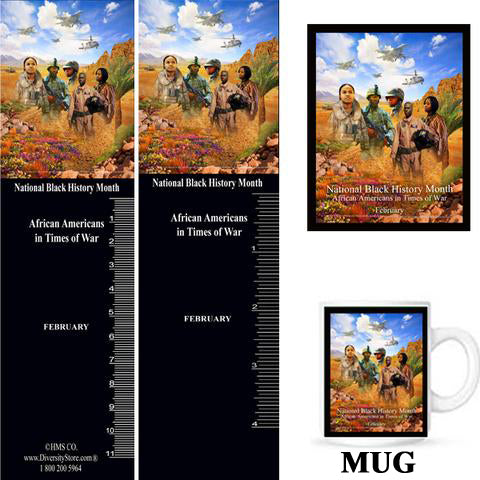 Item# B18K Bookmarks, Mugs, Buttons and Magnets ..OM -  DiversityStore.Com®