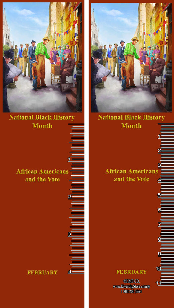 Black History Month 2020 Item# B20K Bookmarks, Mugs, Buttons and Magnets ..OM -  DiversityStore.Com®
