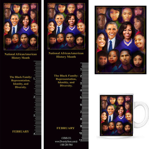 National African American History Month 2021 Item# B21AK Bookmarks, Mugs, Buttons and Magnets ..OM
