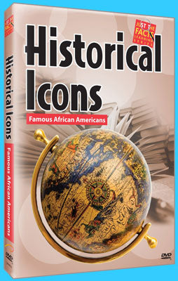 Item# DV4056 Historical Icons Famous African Americans - DVD ..OM