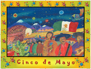 Cinco De Mayo Bookmarks, Buttons and Magnets