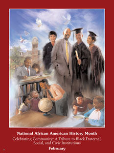 Item # B062 African American History Month Celebrating Community: A Tribute to... .(GSA) -  DiversityStore.Com®