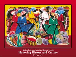 Item# B5M National African American History Month Honoring History and Culture Poster  .(GSA)