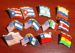 United States Country Pins..OM