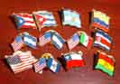 Mexico Country Pins