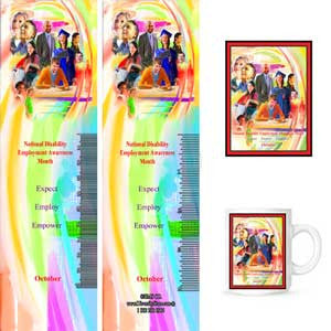 Item# D14K D14 Bookmarks, Buttons, Magnets & Key Chains -  DiversityStore.Com®