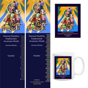 Item# D16K D16 Bookmarks, Buttons, Magnets, Mugs & Key Chains