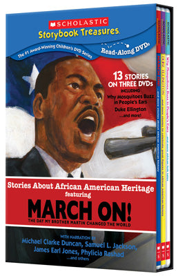 Stories About African American Heritage (Recommended for ages 4-10) - DVD Set ...OM