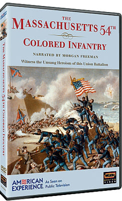 The Massachusetts 54th Colored Infantry DVD