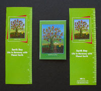 Item# EDK Earth Day Buttons, Magnets, Bookmarks ..OM -  DiversityStore.Com®