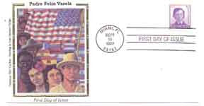 Padre Felix Varela - First Day of issue Stamp (OM) -  DiversityStore.Com®