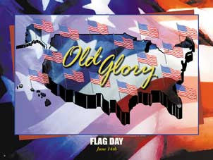 Item# FDAY Flag Day Poster  ...GSA