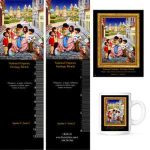 Item# H14K National Hispanic Heritage Month 2014 (OM) -  DiversityStore.Com®