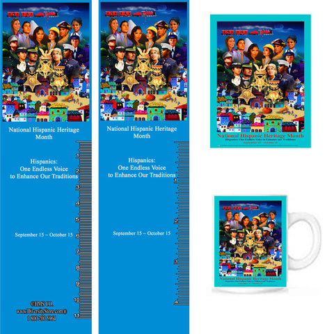 Item# H18K H18 Magnets, Mugs, Key Chains,Buttons & Bookmarks - OM -  DiversityStore.Com®