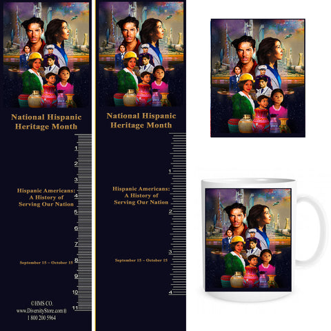 Item# H19K H19 Magnets, Mugs, Key Chains,Buttons & Bookmarks - OM -  DiversityStore.Com®