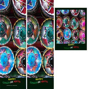 Item# C5HK Happy Cinco De Mayo Bookmarks, Buttons and Magnets ..OM -  DiversityStore.Com®