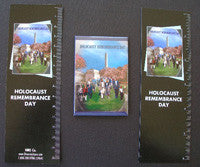 Item# HOLK Holocaust Remembrance Day(V1)  Bookmarks, Buttons and Magnets ..OM -  DiversityStore.Com®
