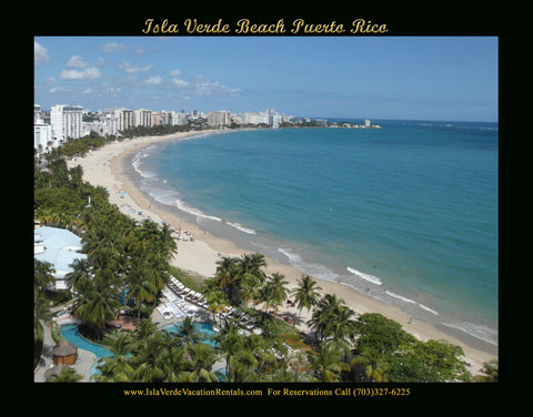 Green Oceanview Studio Penthouse - Email or Click Below for rates-  Isla Verde, Puerto Rico
