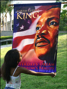 Item# KB Martin Luther King, Jr. - Banner - OM -  DiversityStore.Com®