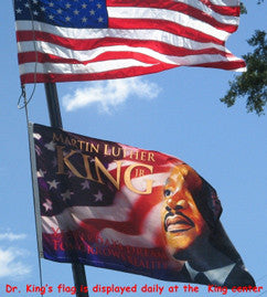 Item: KFLAG Martin Luther King, Jr. - Flag -  DiversityStore.Com®