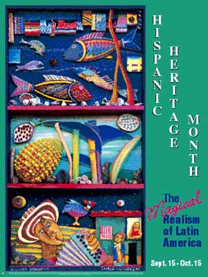 Item# H02M Hispanic Heritage Month The Magical Realism of Latin America (GSA)