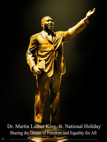 Item# MLK13 Dr. Martin Luther King, Jr. National Holiday Item# MLK13- Sharing the Dream  .(GSA)