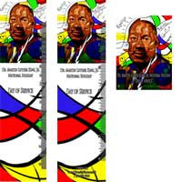 MLK14 Bookmarks, Buttons and Magnets ..OM -  DiversityStore.Com®