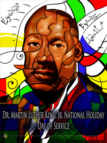 Item# MLK14 Dr. Martin Luther King, Jr. National Holiday - Day of Service .. .(GSA) -  DiversityStore.Com®