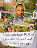 MLK18 Bookmarks, Buttons and Magnets ..OM