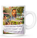 MLK18 Bookmarks, Buttons and Magnets ..OM -  DiversityStore.Com®