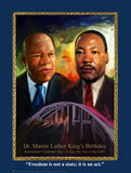 Martin Luther King Jr. Item: MLK21K Bookmarks, Buttons and Magnets ..OM