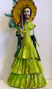 Catrina (Large 18 inch #19) Light Green