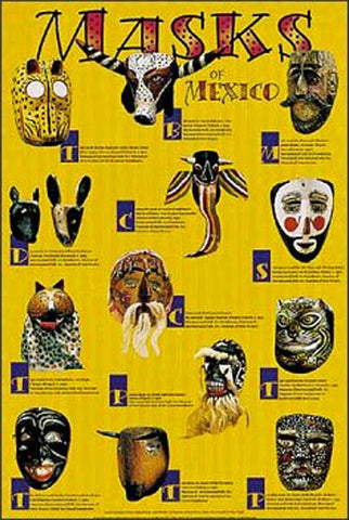 Masks of Mexico .. OM -  DiversityStore.Com®