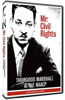 Item# CRTM601 Mr. Civil Rights: Thurgood Marshall and the NAACP - DVD ..OM