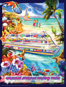 Bookmarks, Buttons,& Magnets Caribbean American Heritage Month (II) June