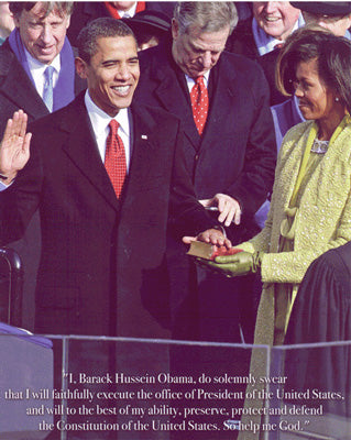 Obama Mini 2 - Ceremony Poster (8 inch by 10 inch) -  DiversityStore.Com®