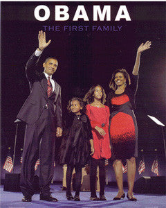 Obama Mini - First Family Poster OM5 (8 inch by 10 inch) -  DiversityStore.Com®