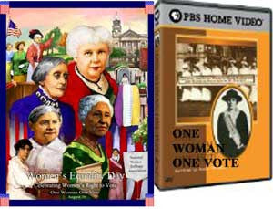 2012 Women's Equality Day Poster & Video Set One Woman One Vote