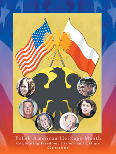 Polish American Heritage Month Poster..(GSA) -  DiversityStore.Com®