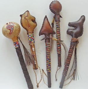Native American Rattles  .. OM -  DiversityStore.Com®